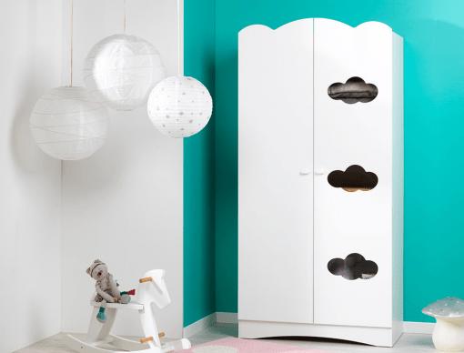 armoire enfant altea blanc