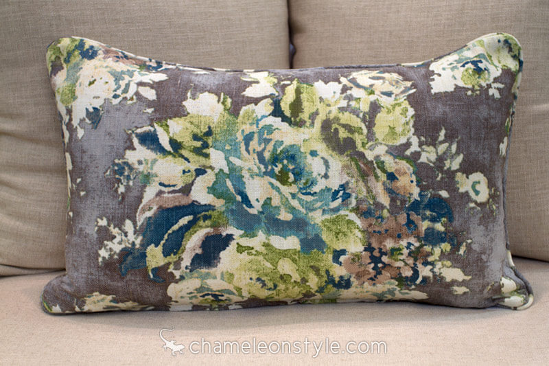 chameleon style power pillow cover 16x26 venus cinder