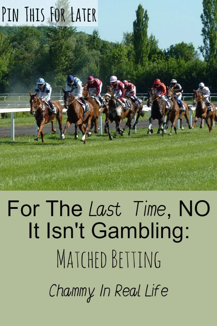 Matched betting has been around for a long time. It's the perfect way to bring in an additional income without any prior knowledge of sporting events.