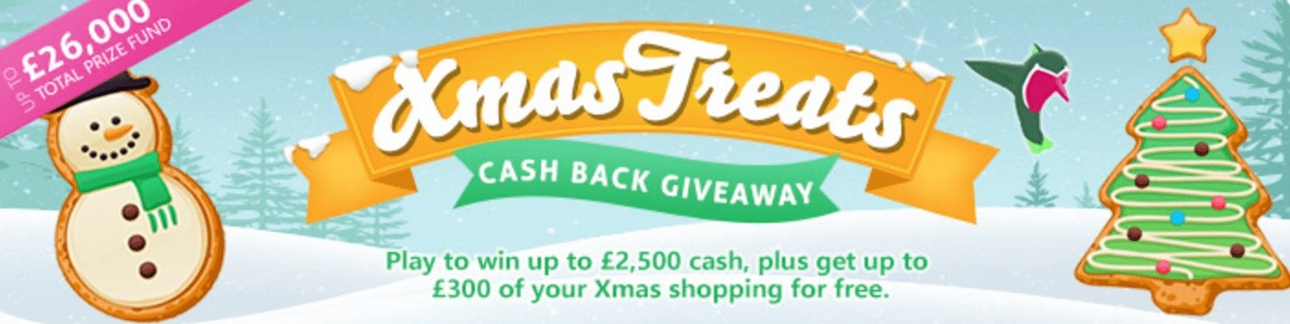 TopCashback Xmas Treats Giveaway