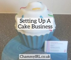 setting up a cake business