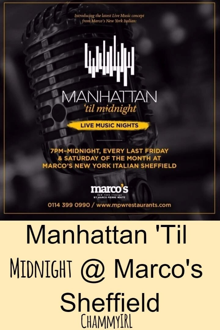 Manhattan 'Til Midnight at Marco's New York Italian Restaurant in Sheffield is a 1920's inspired evening filled with great food, drinks and music.