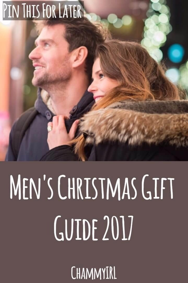 A selection of gifts perfect for then men in your life. Here is my men's Christmas gift guide for 2017.