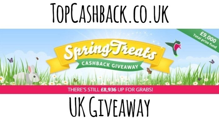 topcashback spring treats giveaway