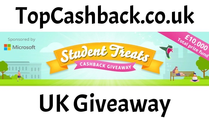 topcashback student treat giveaway