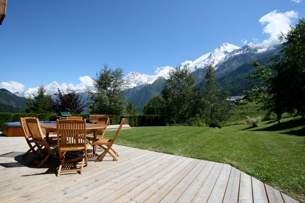 Summer Chamonix Mont Blanc