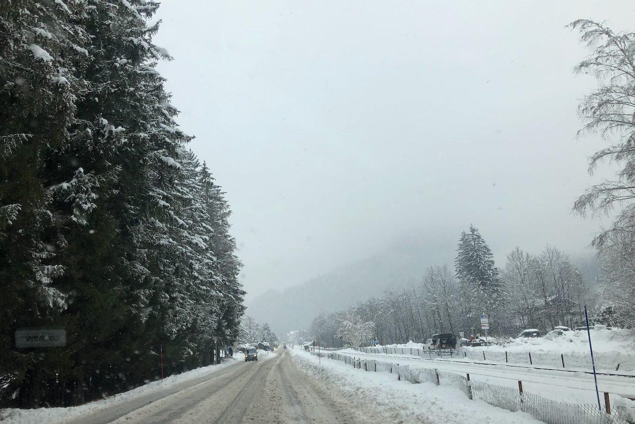 Driving Chamonix