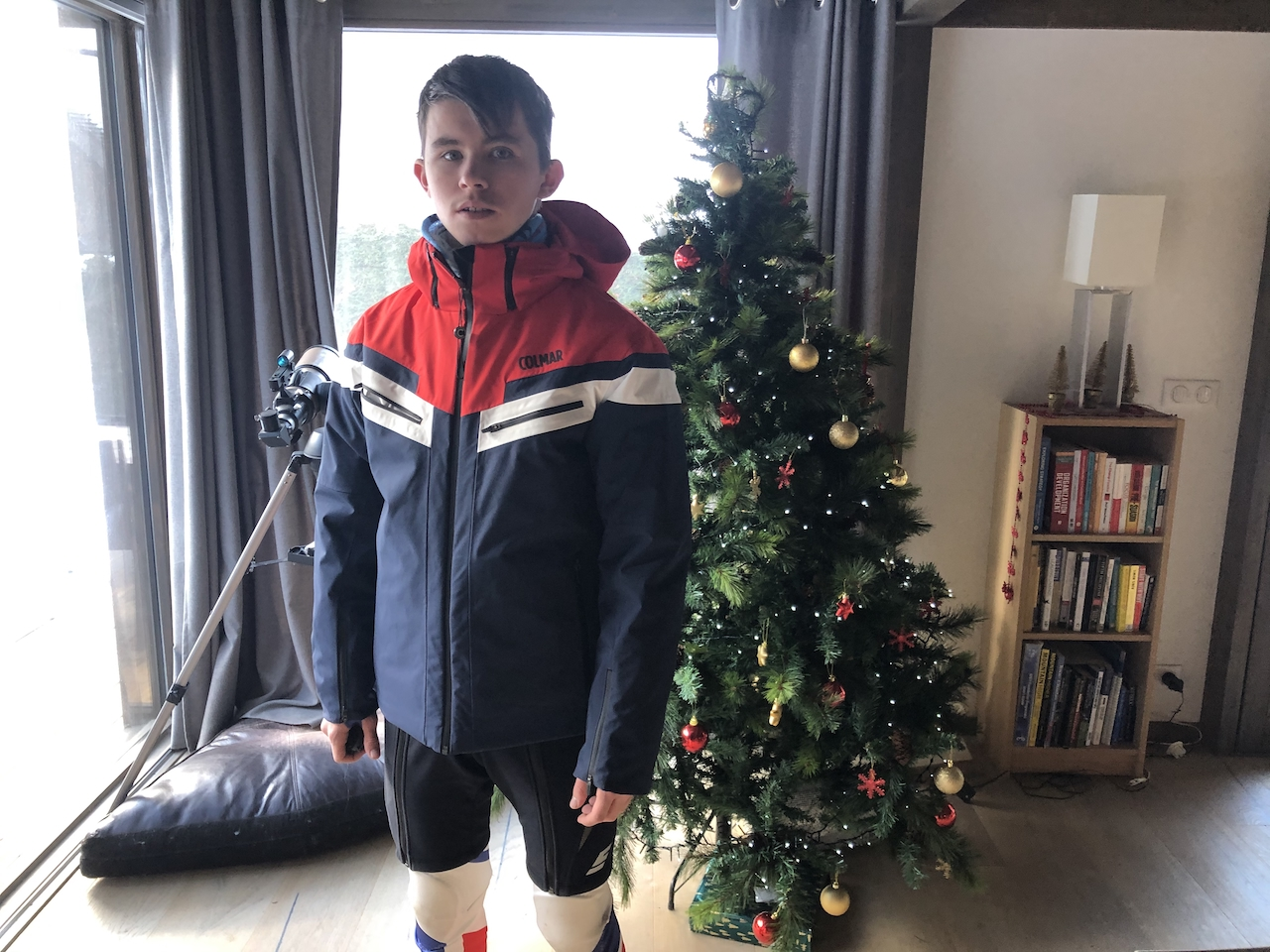 Skiing Chamonix Christmas