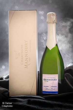 Champagne Mannoury Cuvées ultra brut