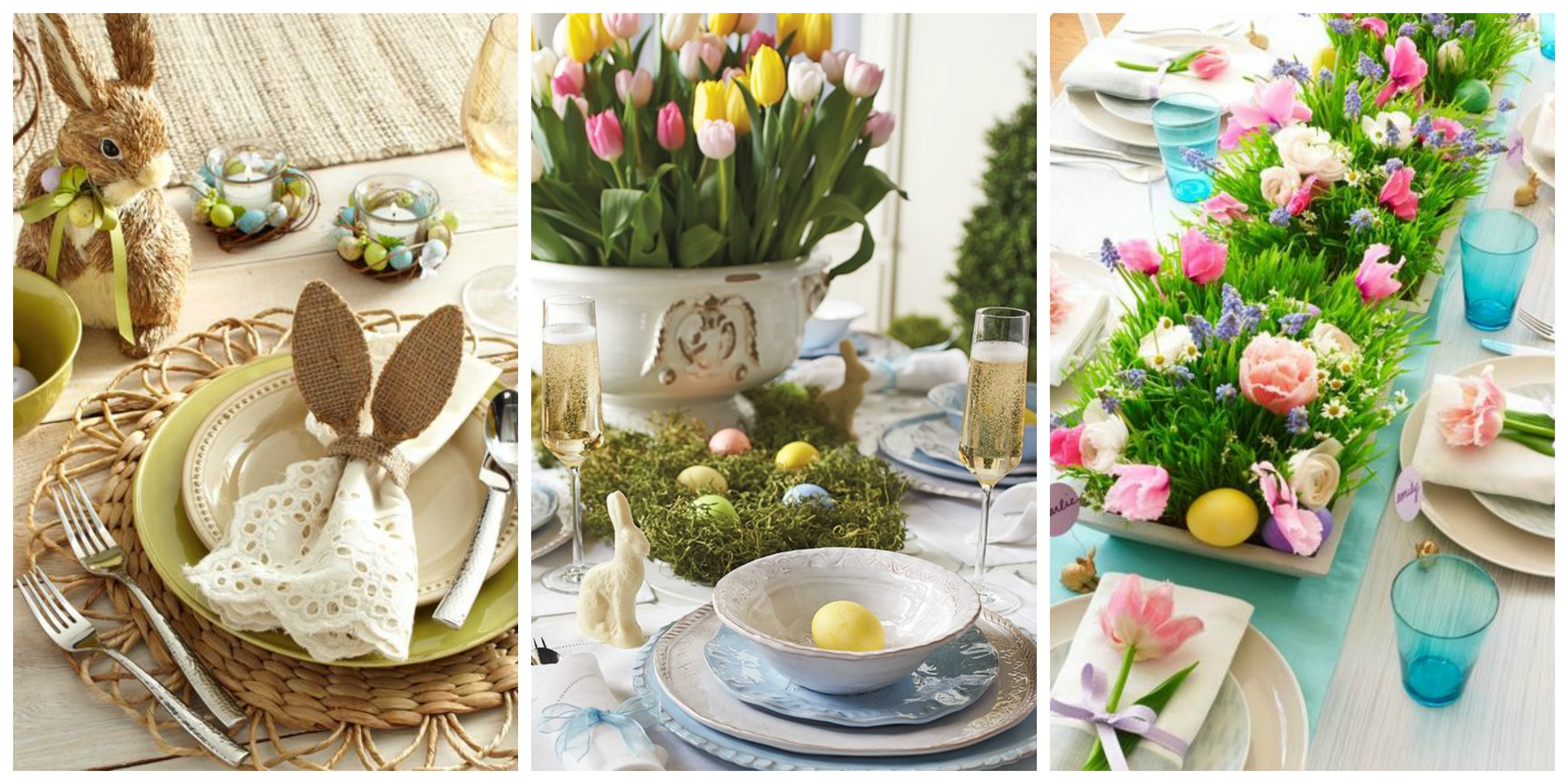 Decorating your Home for Easter - Champagne and Petals