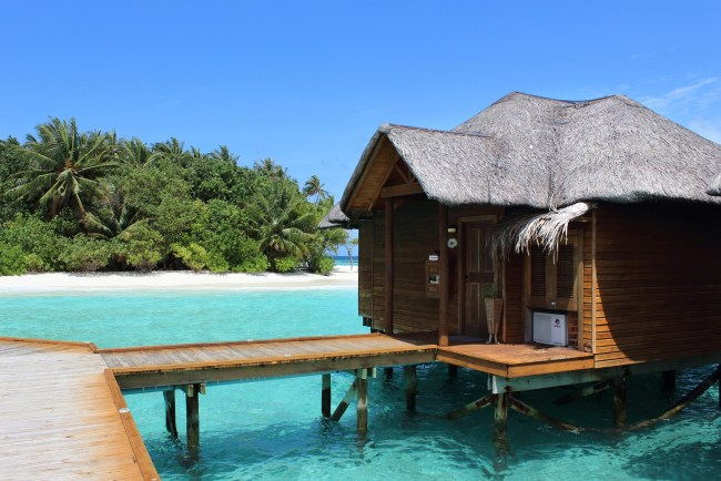 accommodation types in the maldives