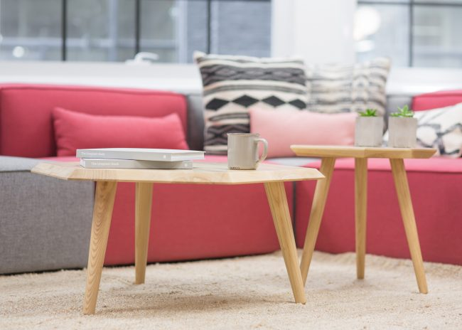 home-upgrade-living-room-coffee-tables-pink-grey-sofas