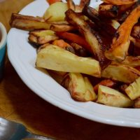 Chips four ways with VonShef Air Fryer