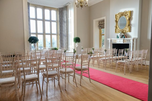 Eynsham Hall Duberley Room