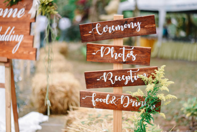 Everything you need to consider for a country wedding