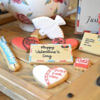 The cutest Valentines Biscuits from the Biscuiteers