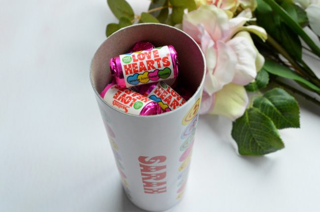 swizzels personalised love hearts