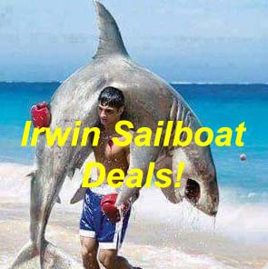 Irwin Sailboat Deals, 28' to 37'... Arrgghh!