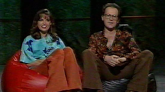 Jane & Tom presenting Countdown's 100th show
