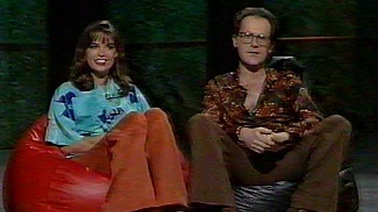 Jane & Tom presenting Countdown's 100th show