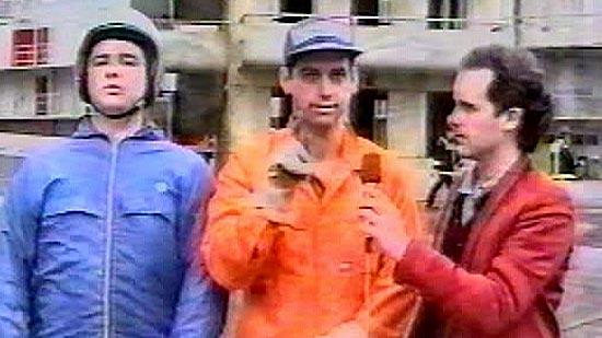 Mick, Rob and Tom. Shitscared.