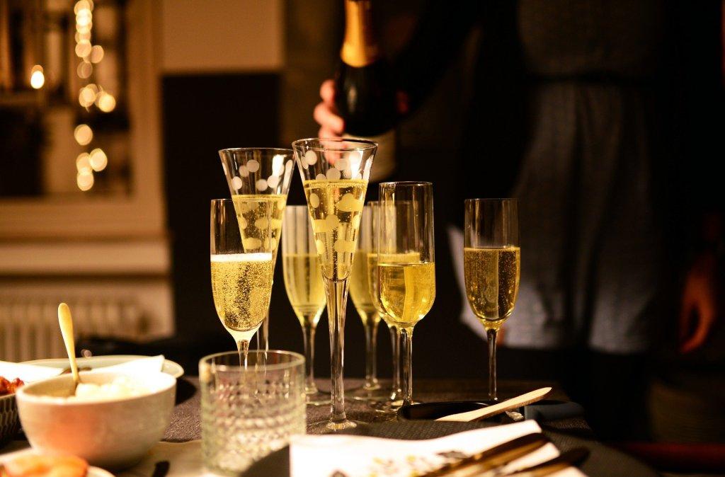 champagne fêtes fin d'année