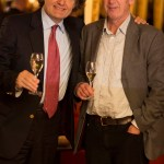 ChampagneGuru with Pierre-Emmanuel Taittinger at the Café Royal reception