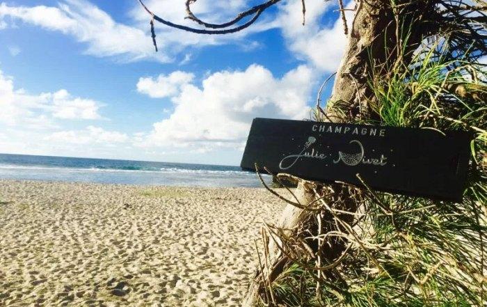 Champagne Julie Nivet on Reunion Island