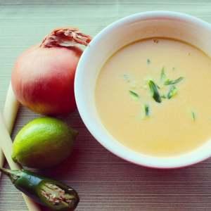 Spicy Winter Coconut Lemongrass Squash Soup