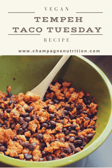Vegan tempeh taco tuesday