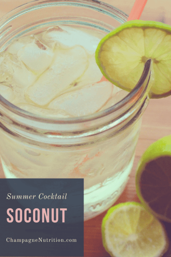 SoCoNut Cocktail for Summer
