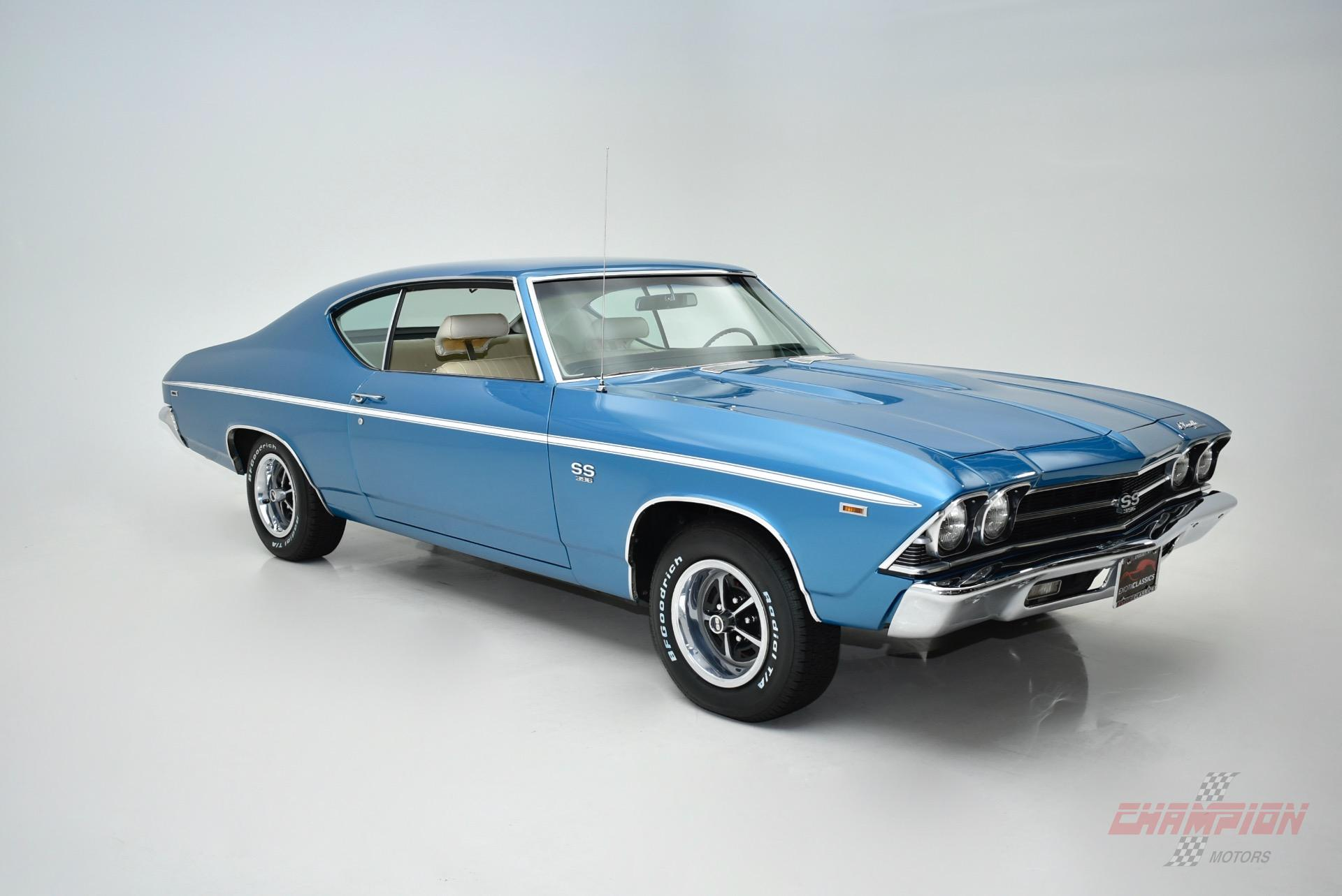 1969 Chevrolet Chevelle SS396 L78   Exotic Classic Car Dealership     1969 Chevrolet Chevelle SS396 L78