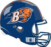 Image result for bucknell football helmet