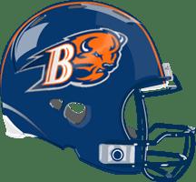 Image result for bucknell football helmet