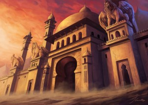 Persian Palace in Champions of Gods