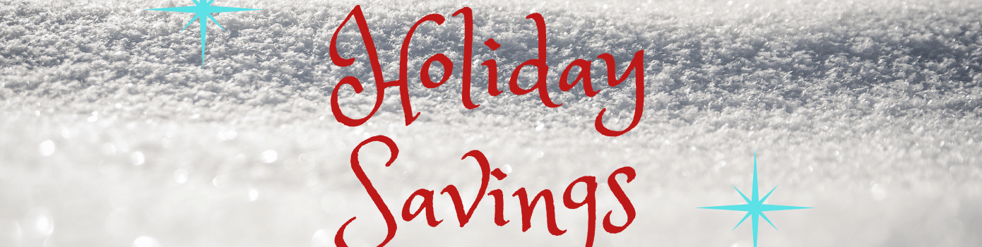 Holiday Savings Special