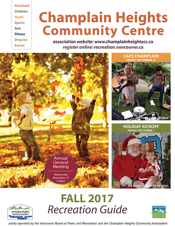 Fall Recreation Guide Online