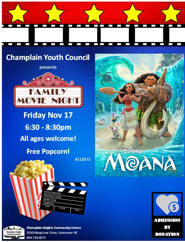 Family Movie Night-Friday Nov 17