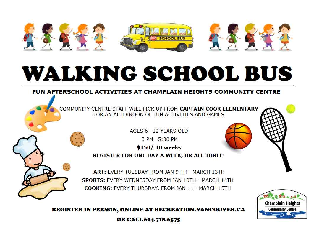 Walking School Bus-Register Now