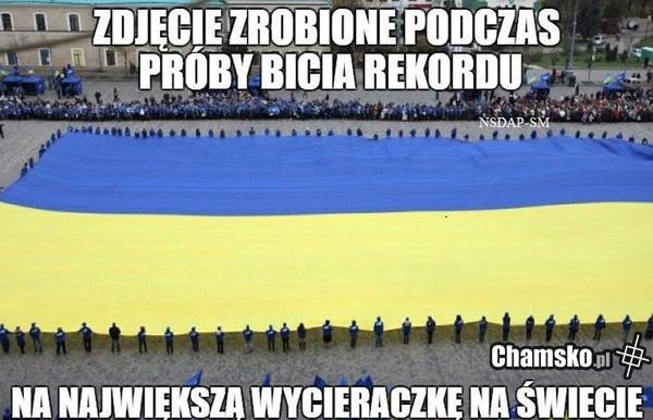 Flaga ukrainy - chamsko.pl