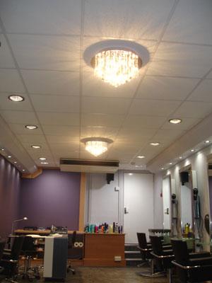 lighting case study rapunzel hair salon