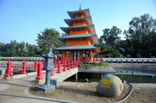 Image result for images of japanese garden chandigarh