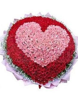 CF Big Heart Bouquet