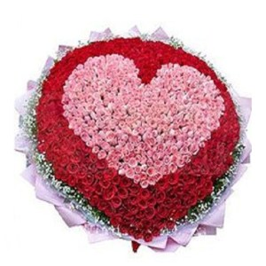 CF Big Heart Bouquet