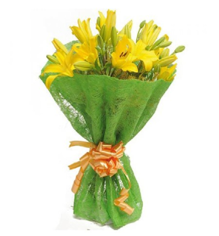 CF Bursting Yellow bouquet