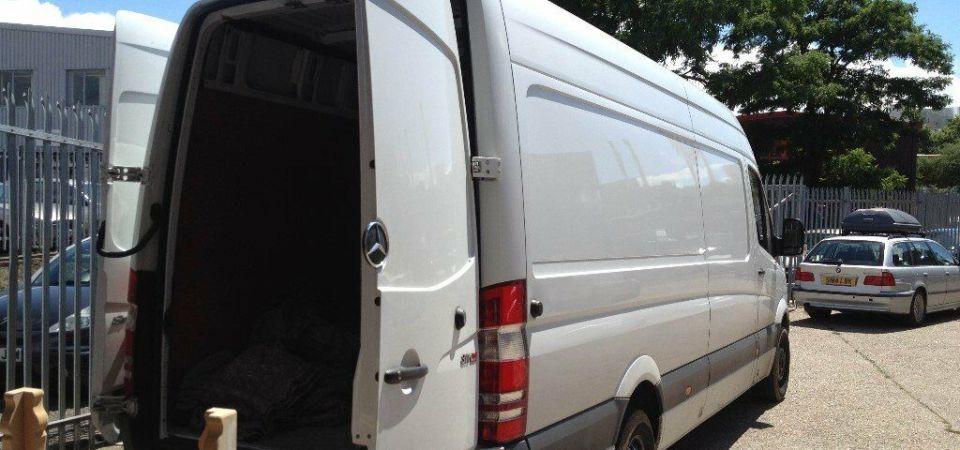 moving van....
