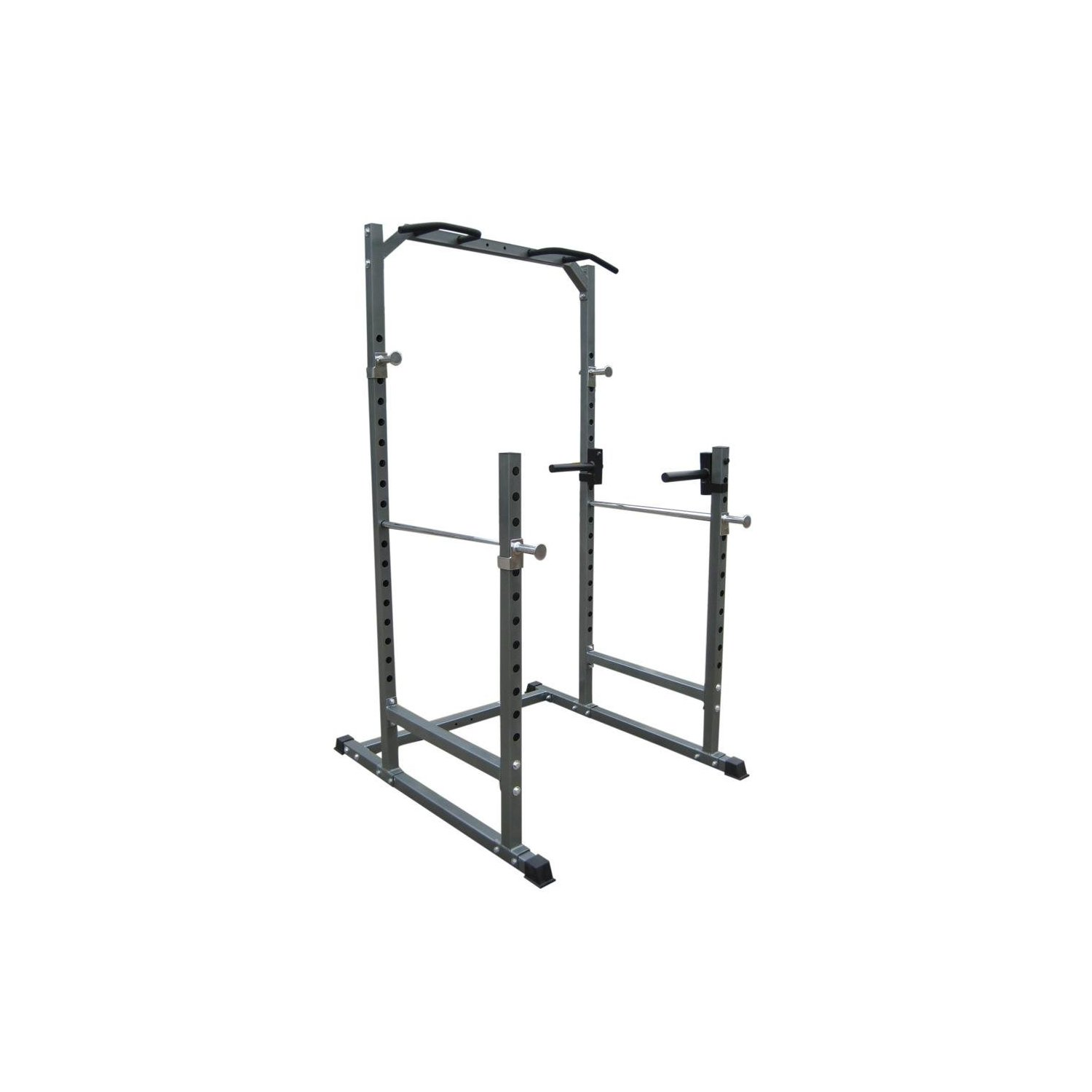 Bodymax Cf376r Half Cage Squat Bench Press Dipping And