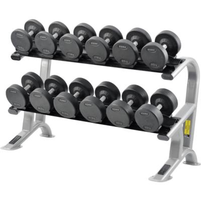 york pro style dumbbell set rack 27 5kg 50kg chandler sports
