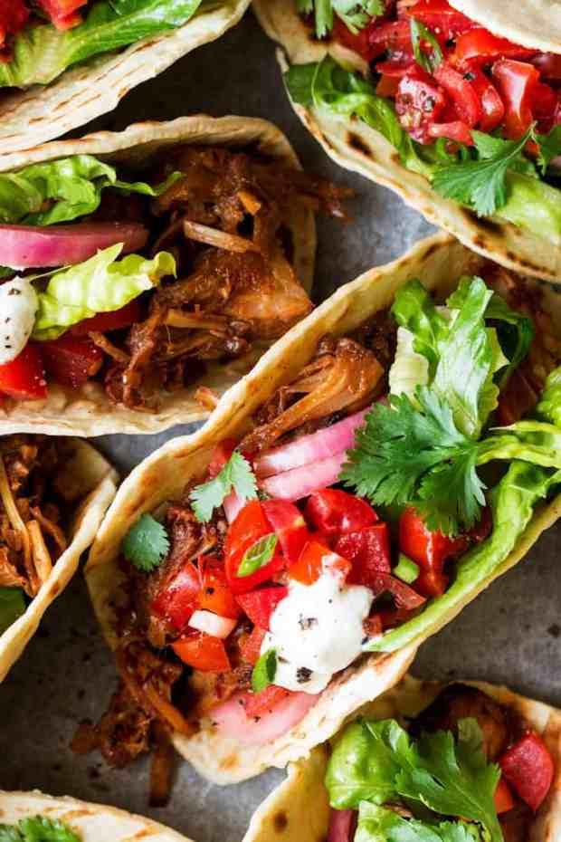 Pulled Jackfruit Tacos