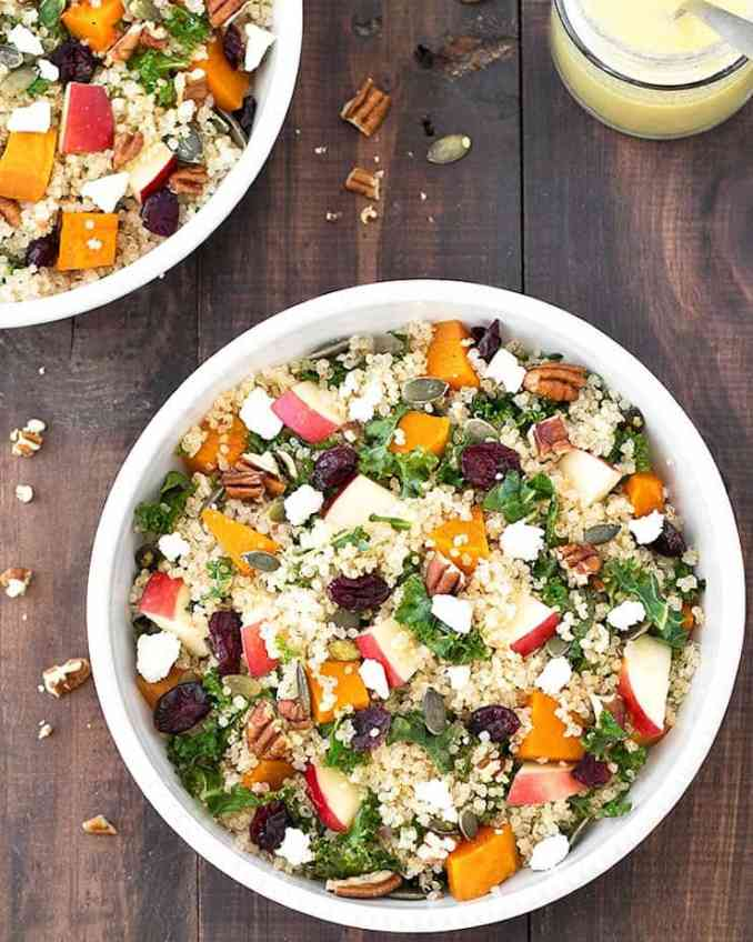 fall harvest salad ideas